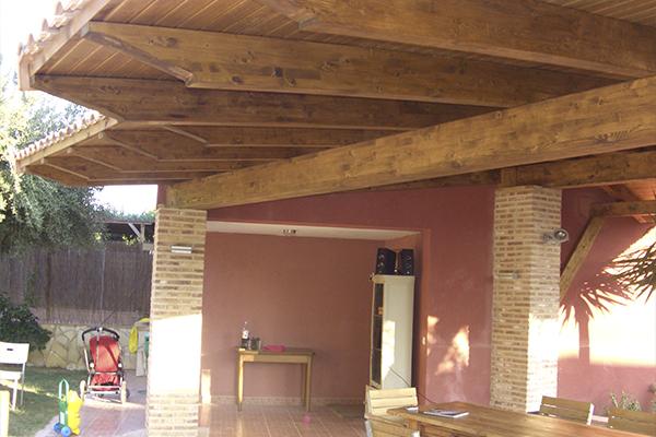 Porche De Madera New Line Tendencias
